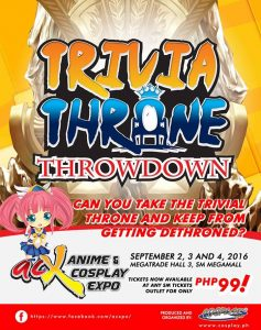 Trivia Throne Throwdown is a trivia contest with a twist